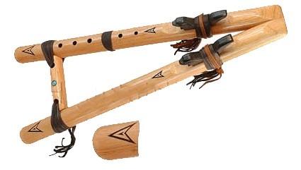 Flûtes amérindiennes