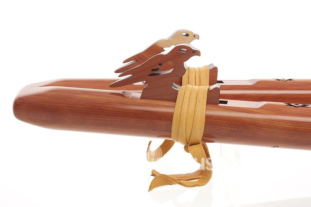 Double Flûte Sparrow hawk La min cèdre arômatique