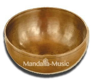 Le bol chantant Himalaya Grand Coeur 12 métaux