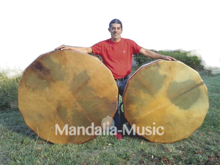 TAMBOUR GEANT SHISHAYAN 115cm Cheval - Jeu à plusieurs