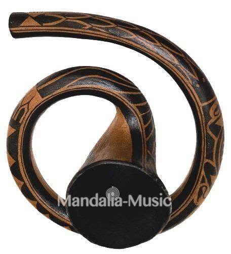 Didgeridoo Maori Résine Ré