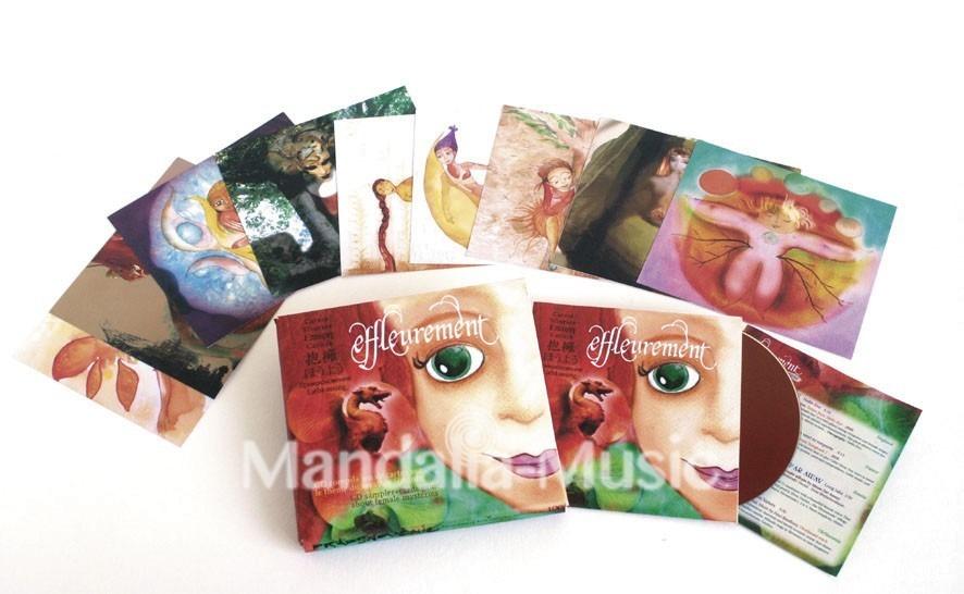 Effleurement - CD+jeu de cartes sur le féminin