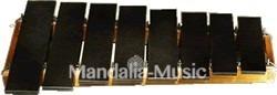 Lithophone Granit noir 8 lames