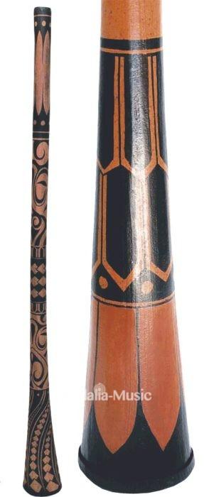 Didgeridoo Maori droit en Ré
