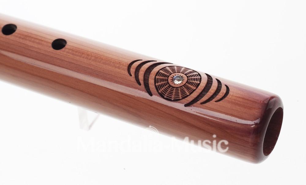 Flûte Fréquence Terre en cèdre Arômatique 432HZ