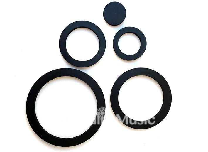 set d'anneaux antidérapants pour bols chantants