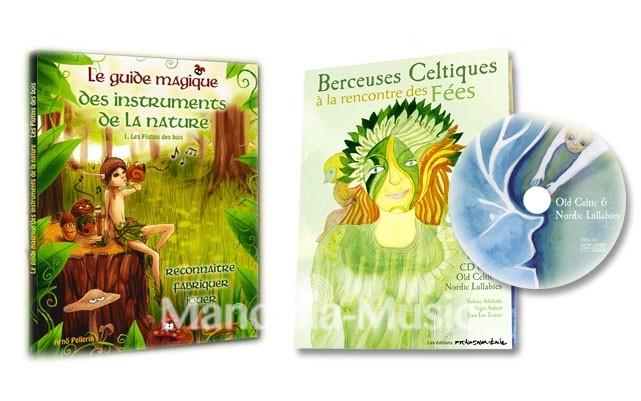 Duo Le guide magique des instruments de la nature + berceuses celtiques