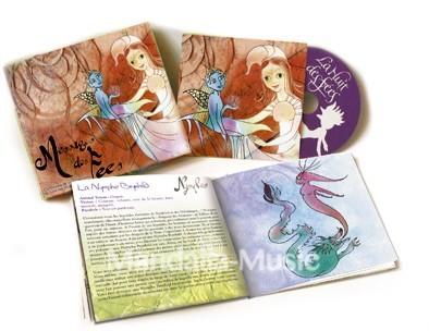 Coffret MESSAGES DES FEES (livre + CD)