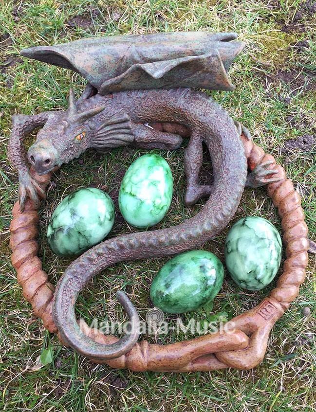 Oeufs shaker 'Dragon stone'
