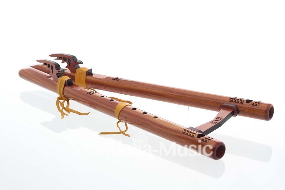 Double Flûte Twin Tail Sol min cèdre arômatique