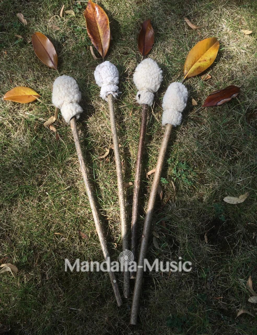 Mailloche tambour chamanique