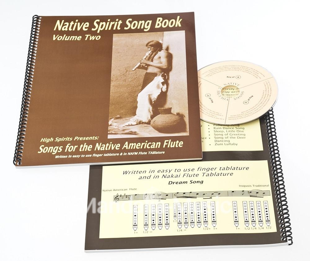Livre Songbook + cd Nativ spirit vol.2