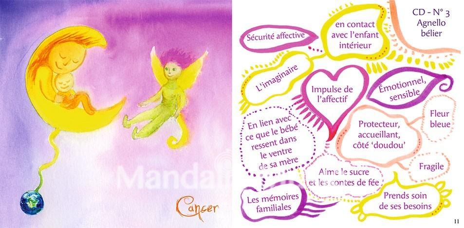CD Mandalia Vol. 4 - Astrologie de l'âme, partie 1