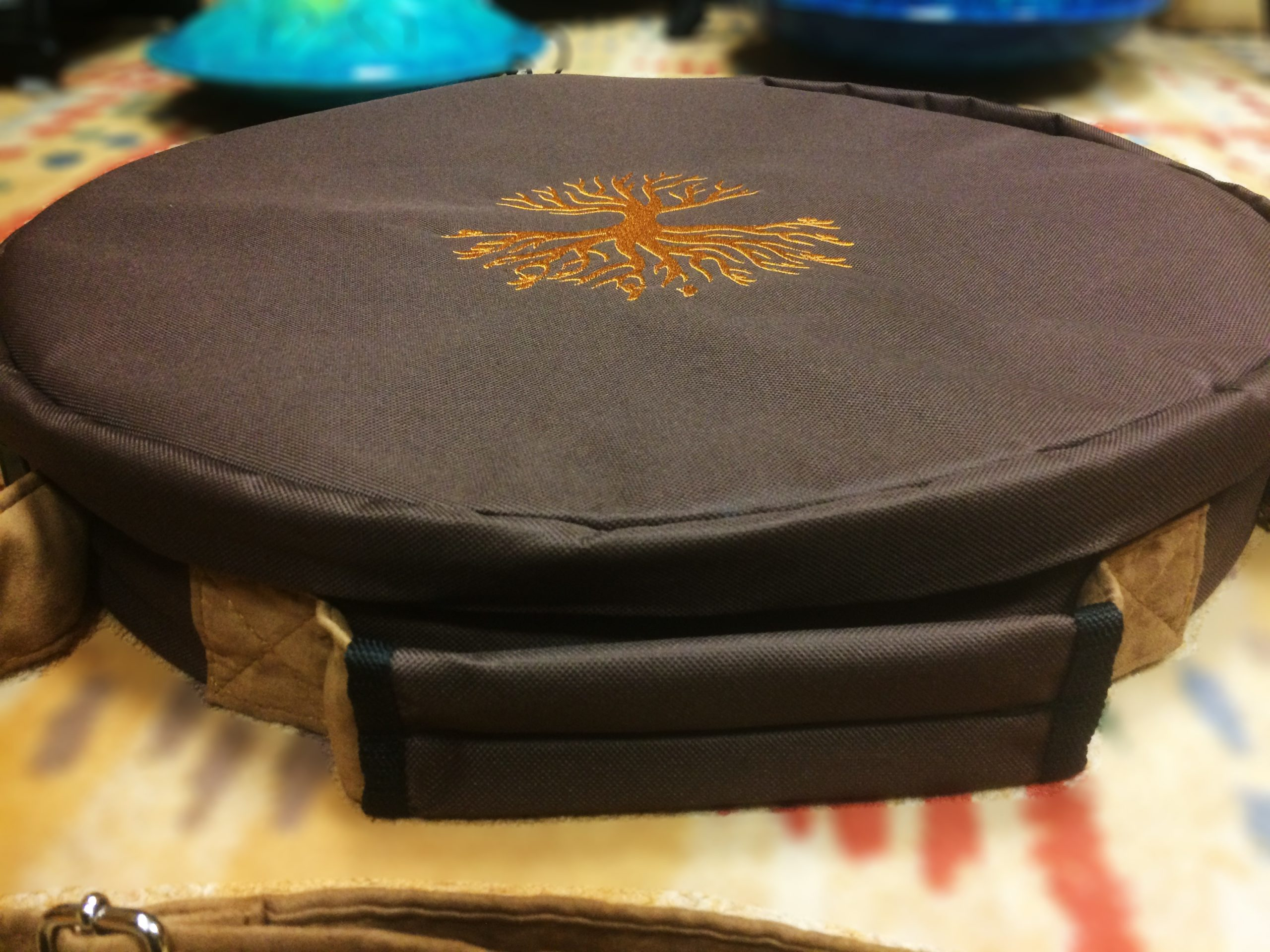 Housse deluxe tambour chamanique 40, 45 et 50cm