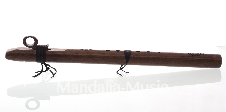 Flûte Condor Bass en DO 432Hz noyer (Fréquence terre)